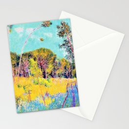 John Peter Russell - A clearing in the forest - Digital Remastered Edition Stationery Cards