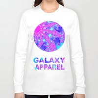fractal Long Sleeve T-shirts featuring FRACTAL by GALAXY APPAREL