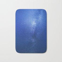 Looking up into the milkyway galaxy Bath Mat