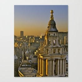 Top of London Canvas Print