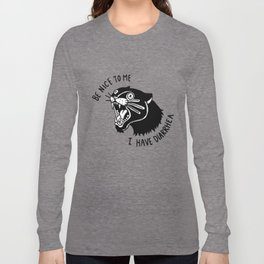 Panther Poop Long Sleeve T-shirt