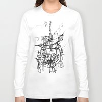 chandelier Long Sleeve T-shirts featuring Chandelier by Kim Ly