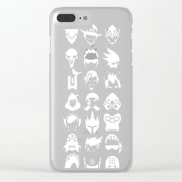 Heros - Black Clear iPhone Case