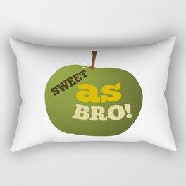 Green apple SWEET AS BRO Rectangular Pillow
