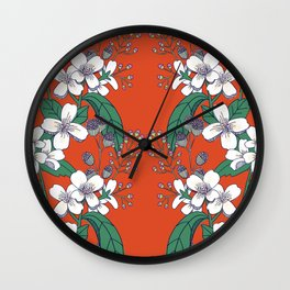 Botany Cuatro Wall Clock