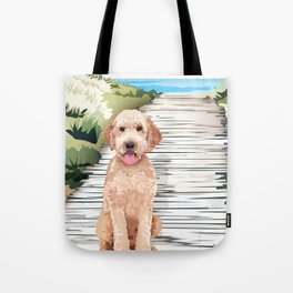 Doodle at the Beach Tote Bag