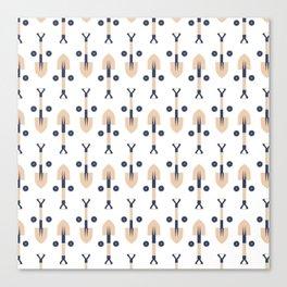 Construction (Patterns Please) Canvas Print