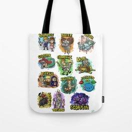 Zodiaque Tote Bag