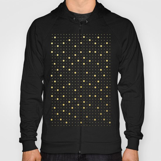 Pin Points Gold Hoody
