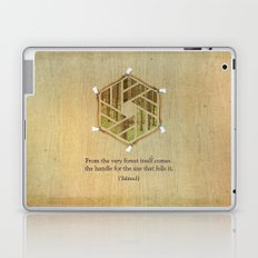 Forest & Axe — Illustrated Quote Laptop & iPad Skin
