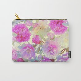 soft peonies Carry-All Pouch