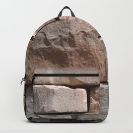 Artisan Masonry Stone House Front Detail 001 Backpack