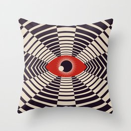 The All Gawking Eye Throw Pillow
