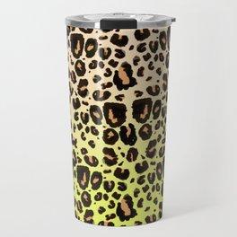 Neon leopard Travel Mug