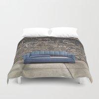 sofa Duvet Covers featuring sofa free by danielle marie