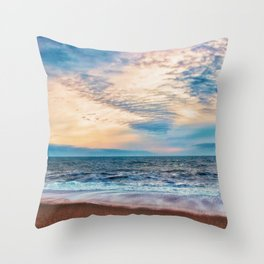 If I could walk on water .. Throw Pillow
