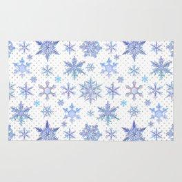 Snowflakes #1 Rug