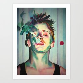 Macaulay Culkin Art Print