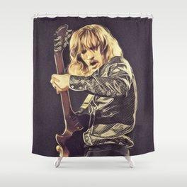 Joe Walsh, Music Legend Shower Curtain