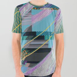 Color Wave ~026~ All Over Graphic Tee