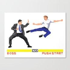 Boss Fight Canvas Print