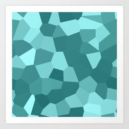 Voronoi Art Print