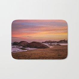 Sunset over Sri Lanka Bath Mat