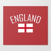 england Canvas Prints featuring England by Earl of Grey