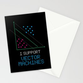 I Support Vector Machine For Machine Learning Stationery Cards