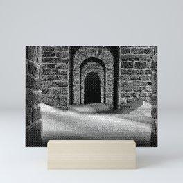 THE ALLEY Mini Art Print