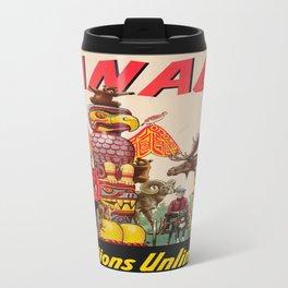 Vintage poster - Canada Travel Mug
