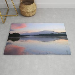 Tranquil Morning in the Adirondacks Rug