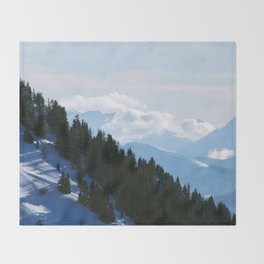 Steep Hills Throw Blanket
