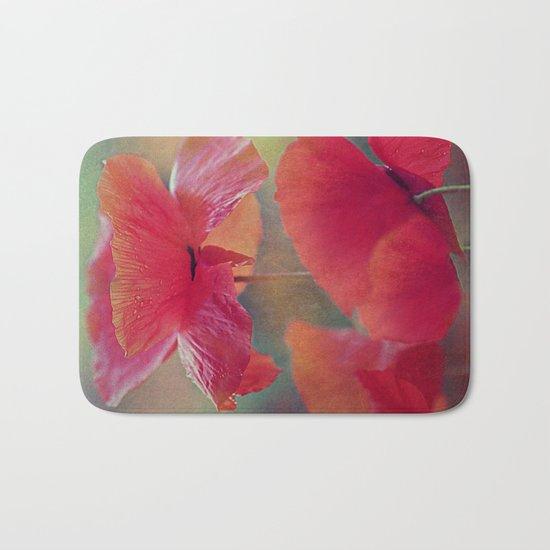 Poppies(vintage)2. Bath Mat