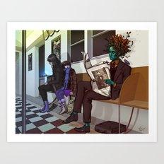 Greenman Art Print