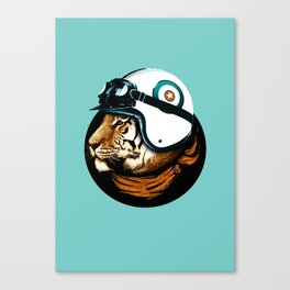 Star Racer Canvas Print