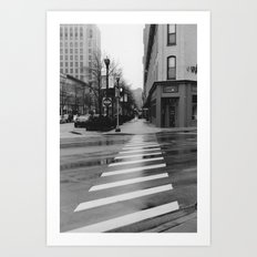 Commercial Approach Art Print