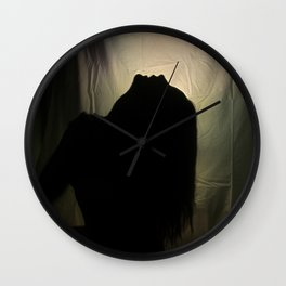 Howlin' For You Wall Clock