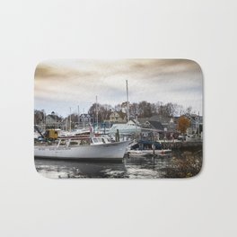 Kennebunkport Habor  Bath Mat