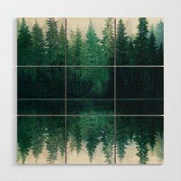 Reflection Wood Wall Art