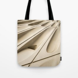 Architectural abstract of the Broad (rhymes with road), Los Angeles, California Tote Bag