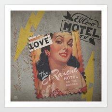 El Coro Rancho Amor Art Print