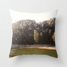 Crystal Lake, CA Throw Pillow