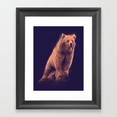 Sun Bear Framed Art Print