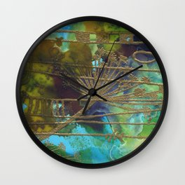 My Dandelion Wall Clock