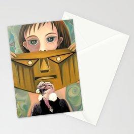 Secret identity Stationery Cards