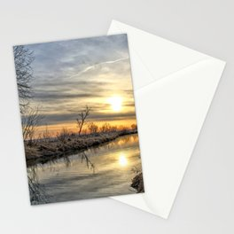 Along The River Bank 3 Stationery Cards
