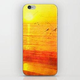 Golden Sunrise iPhone Skin