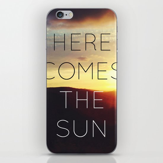 Here It Comes iPhone Skin