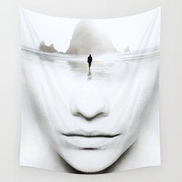 in thoughts Wall Tapestry